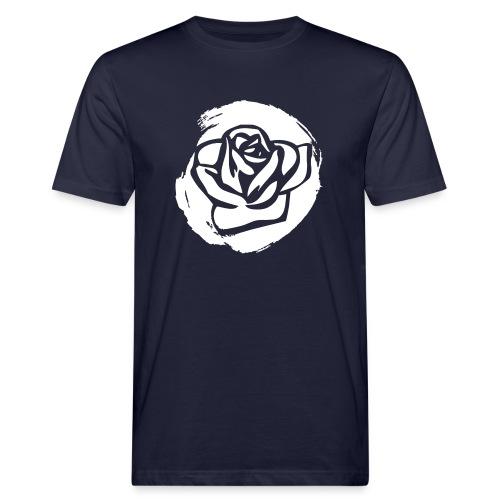 Rose 2 M - Männer Bio-T-Shirt