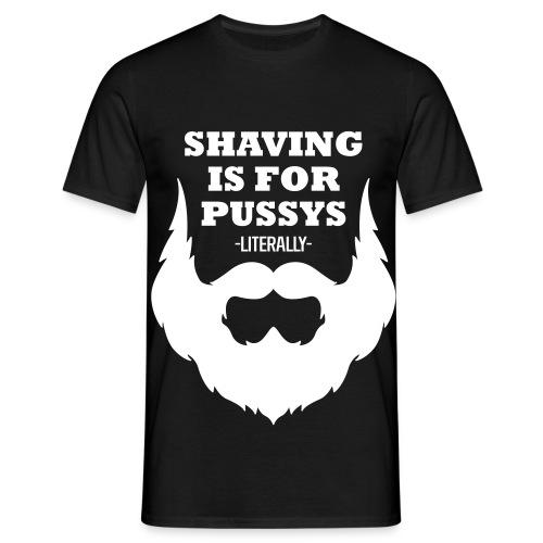 Für Bärtige ;-) - Männer T-Shirt