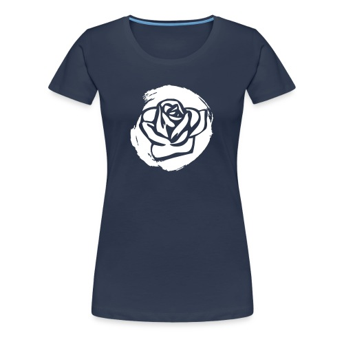 Rose 3 W - Frauen Premium T-Shirt