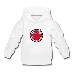 Smiley union jack  - Kids' Premium Hoodie