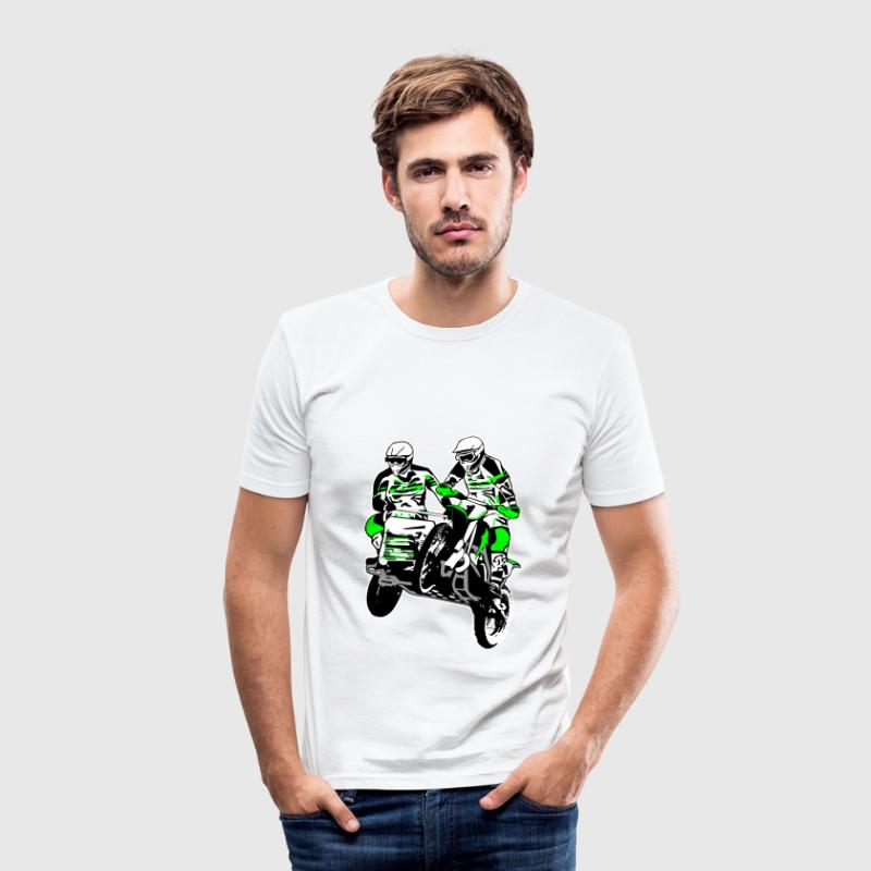 Sidecar MotoCross T-Shirts - Men's Slim Fit T-Shirt