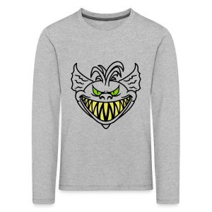 Devil Face  - Kids' Premium Longsleeve Shirt