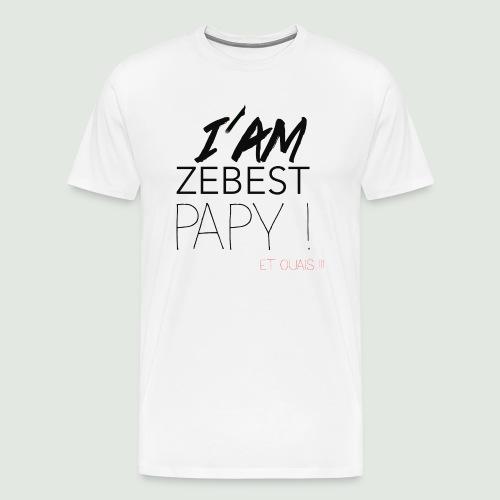 Ze best PAPY ! - T-shirt Premium Homme