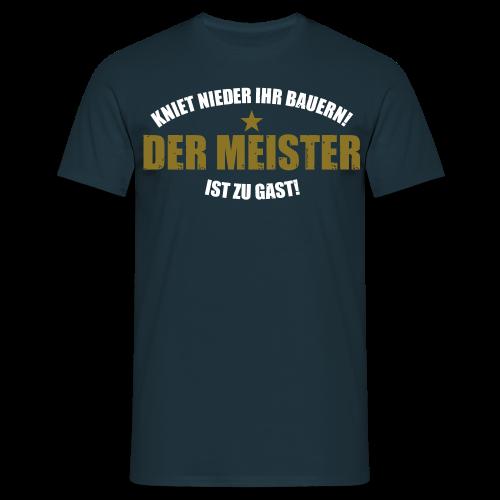 Kniet nieder! Männer-Shirt - Männer T-Shirt