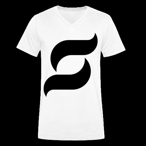 Samy Inc Männer T-Shirt mit V-Ausschnitt - Männer Bio-T-Shirt mit V-Ausschnitt von Stanley & Stella