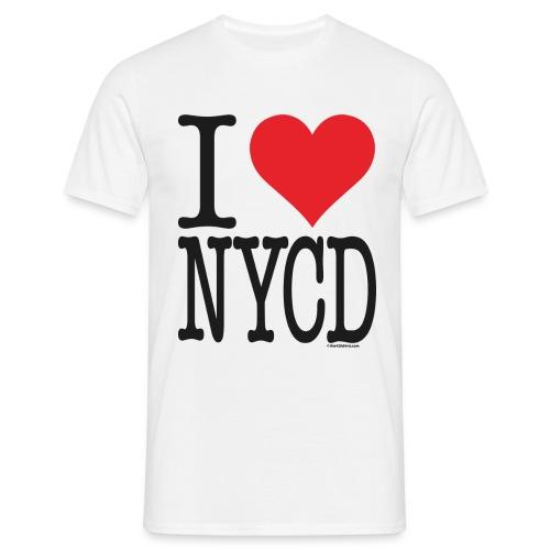 i love new york city diesel / Sorte - male - Men's T-Shirt