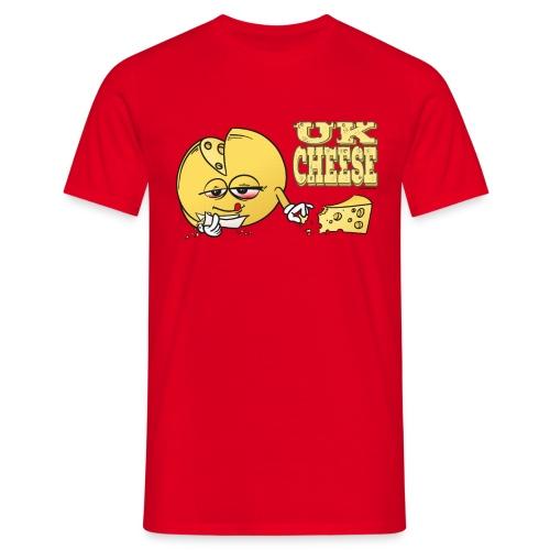 UK Cheese / Sorte - male - Men's T-Shirt