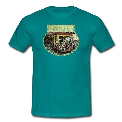 Trainwreck / Sorte - male - Men's T-Shirt