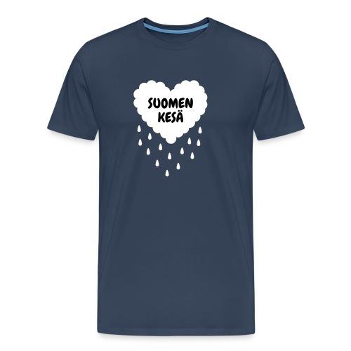 Suomen kesä ♂ - Miesten premium t-paita