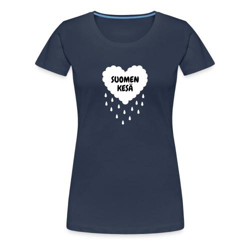 Suomen kesä ♀ - Naisten premium t-paita