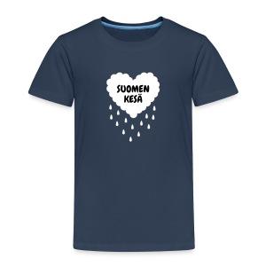 Suomen kesä (lasten) - Lasten premium t-paita