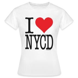 i love new york city diesel / Sorte - female - Women's T-Shirt