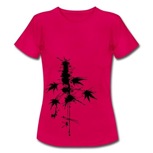 Ein Klecks Cannabis (ecke) - female - Women's T-Shirt