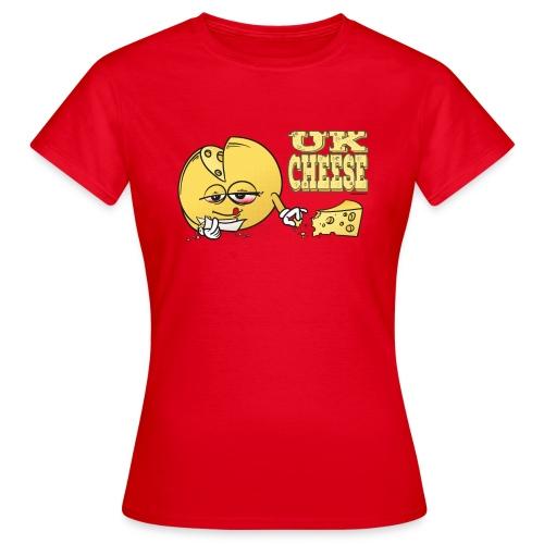 UK Cheese / Sorte - female - Women's T-Shirt