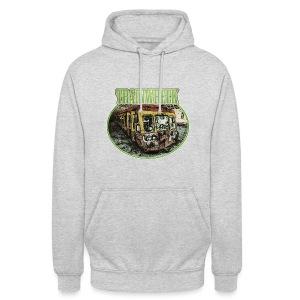 Trainwreck / Sorte - unisex Hoodie - Unisex Hoodie