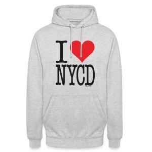 i love new york city diesel / Sorte - unisex - Unisex Hoodie