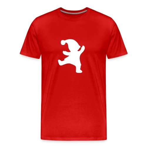 Tonttupaita (miesten) - Miesten premium t-paita