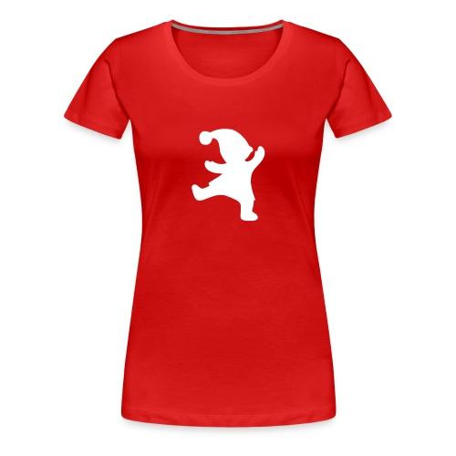 Tonttupaita (naisten) - Naisten premium t-paita
