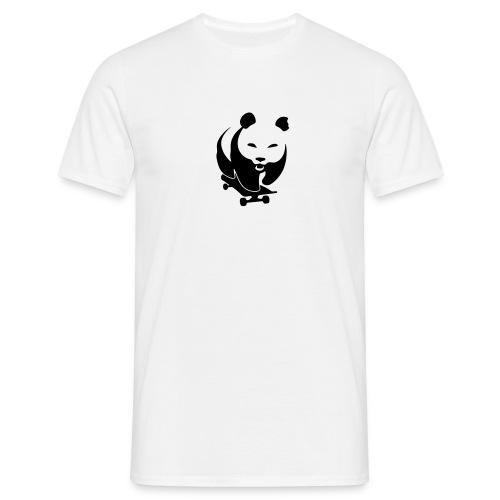 Evil Skateboard Panda - Männer T-Shirt