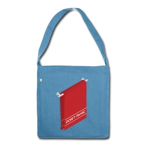 Happy Towel Day Taschen & Rucksäcke Tote-Bag - Shoulder Bag made from recycled material