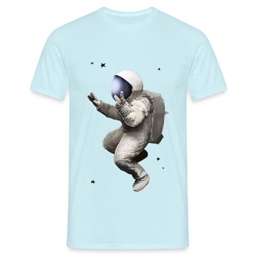 Astronaut WOOP!WOOP!#2 - Männer T-Shirt