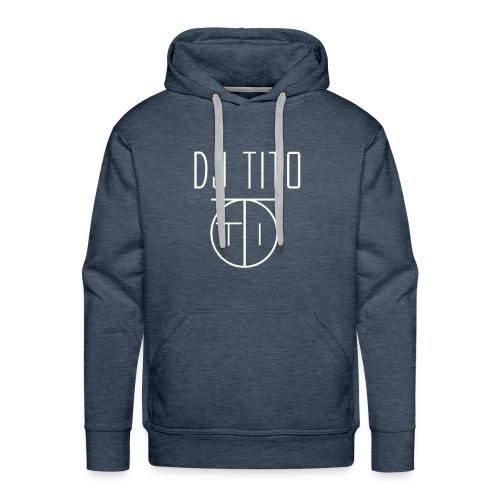 Sweat à capuche Homme By DJ TITO - Sweat-shirt à capuche Premium pour hommes