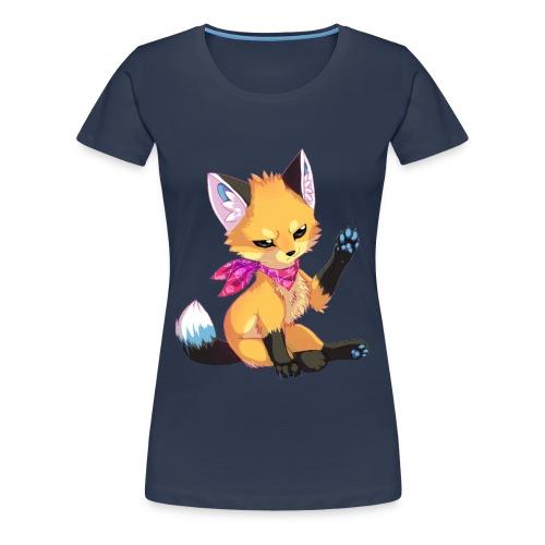 Renard Manga - T-shirt Premium Femme