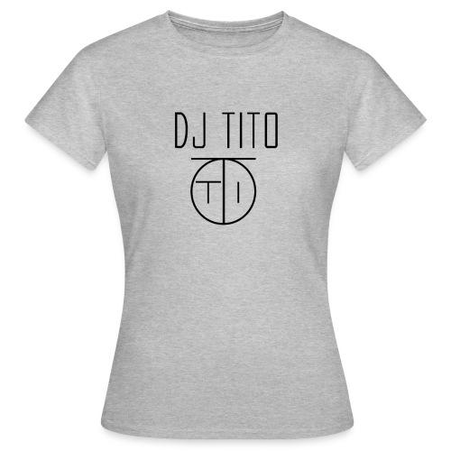 Tee shirt Femme Basic By DJ TITO  - T-shirt Femme