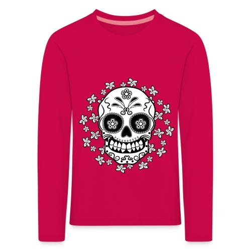 Sugar Skull - Kids' Premium Longsleeve Shirt