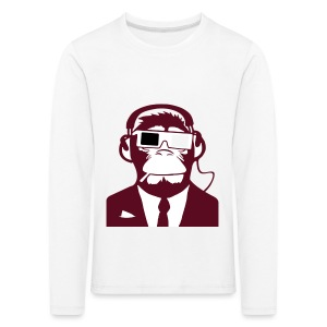 Electro club Monkey  - Kids' Premium Longsleeve Shirt