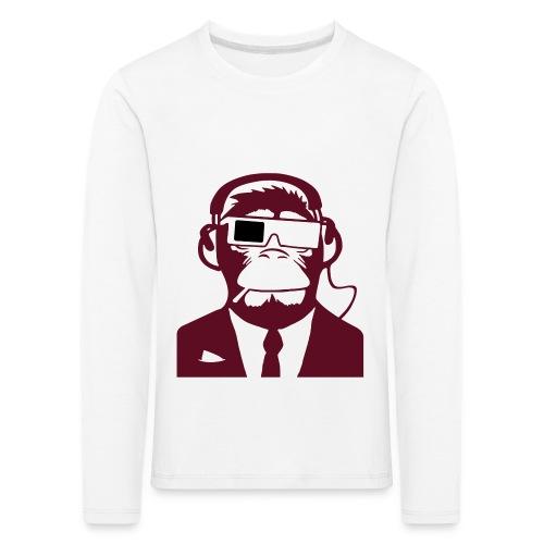 Electro club Monkey  - Kids' Premium Longsleeve Shirt