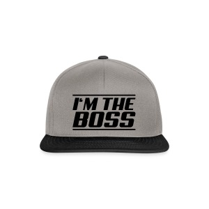 I'm the boss - Snapback Cap