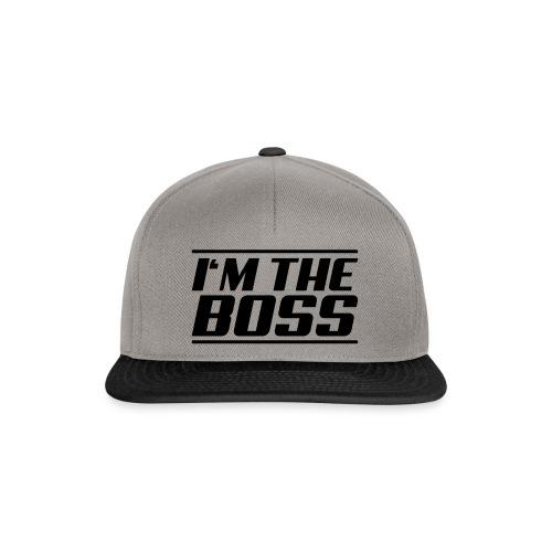 I'm the boss - Snapback Cap
