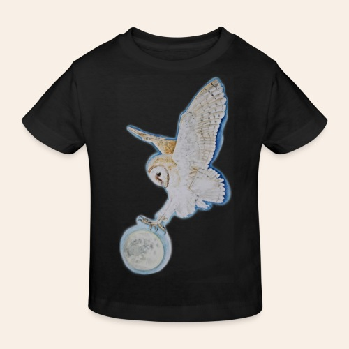 Kinder Bio-T-Shirt Eule - Kinder Bio-T-Shirt