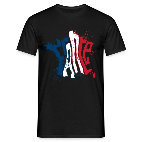 FRANCE MULTI COLORS - T-shirt Homme