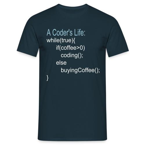 Coder's Life Männer T-Shirt - Männer T-Shirt
