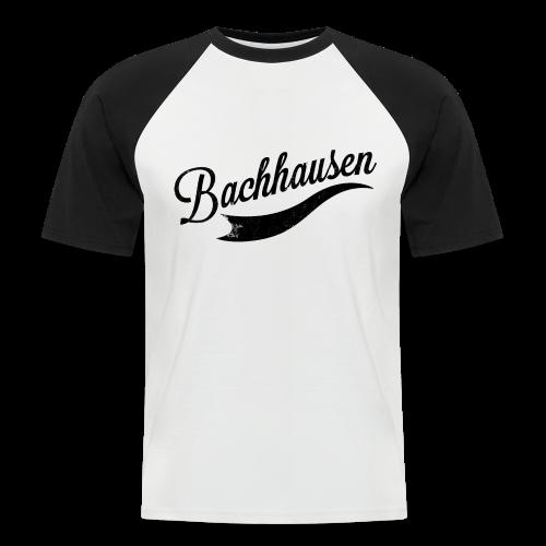 T-Shirt Bachhausen - Männer Baseball-T-Shirt