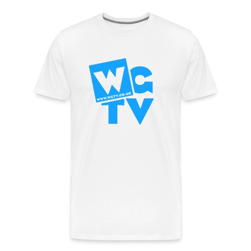 Men's Premium T-Shirt with Logo - Men's Premium T-Shirt