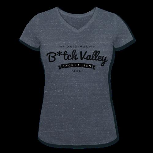 Damen-Shirt B*tch Valley - Frauen Bio-T-Shirt mit V-Ausschnitt von Stanley & Stella