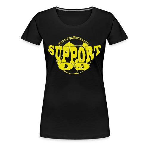 SUPPORT 09 T-Shirt Frauen - Frauen Premium T-Shirt