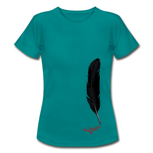 Raven Feather Ladies T-Shirt - Women's T-Shirt