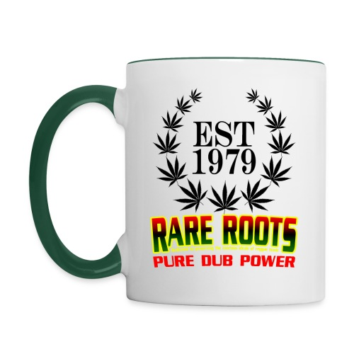 RARE ROOTS CUPPA WHITE - Contrasting Mug