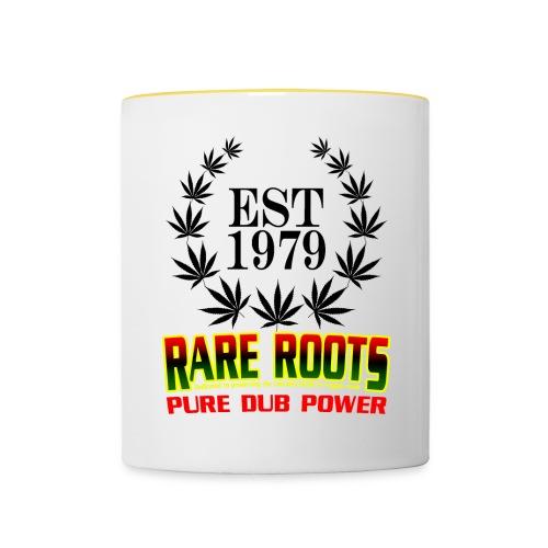 WHITE RARE CUPPA - Contrasting Mug
