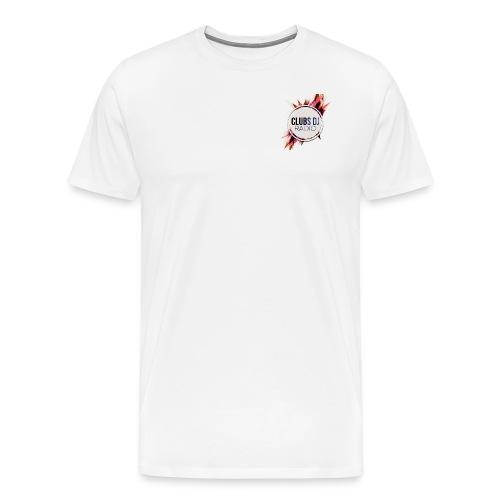TEE SHIRT PREMIUM HOMMES CLUBS DJ RADIO - T-shirt Premium Homme