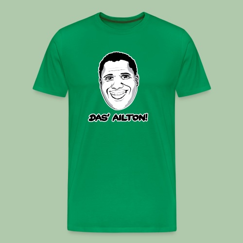 Das' Ailton T-Shirt klassisch - freie Farbwahl - Männer Premium T-Shirt