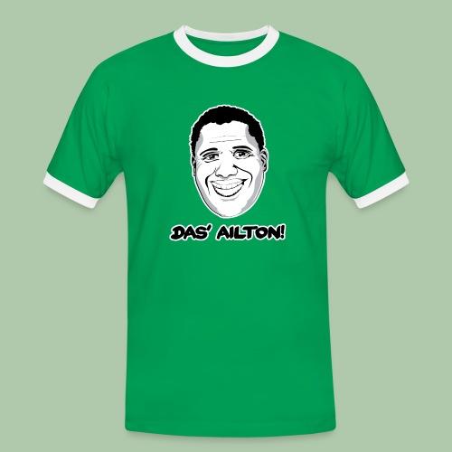 Das' Ailton T-Shirt kontrast - Männer Kontrast-T-Shirt