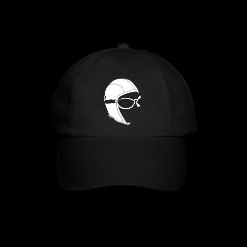 Black Aviator Cap - Cappello con visiera