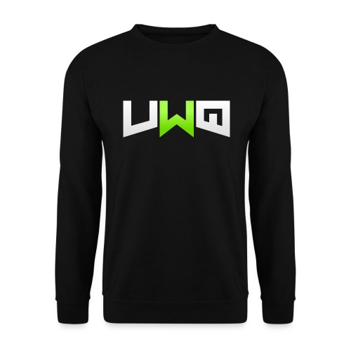 Vwq Logo Black Sweater - Men's Sweatshirt