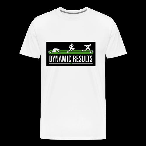 Premium Classic White T  - Men's Premium T-Shirt
