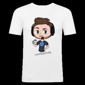 Men's Slim Fit T-Shirt: LewisBlogsGaming - Men's Slim Fit T-Shirt